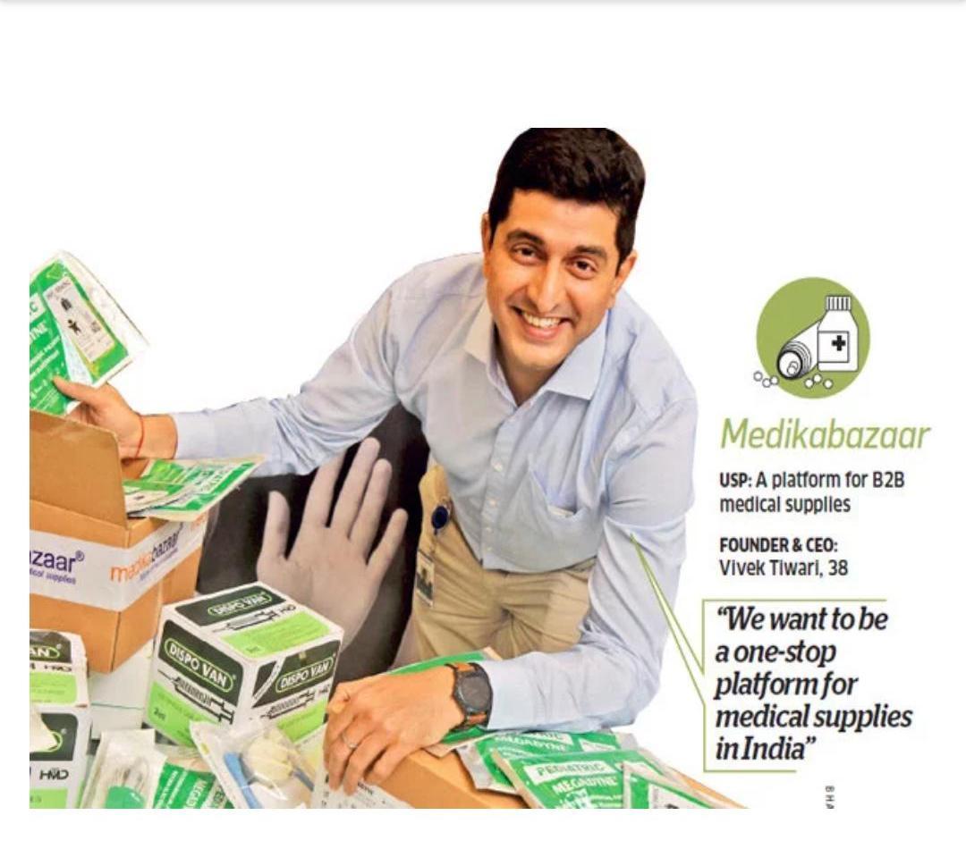 Medikabazaar In The Economic Times Sunday magazine1