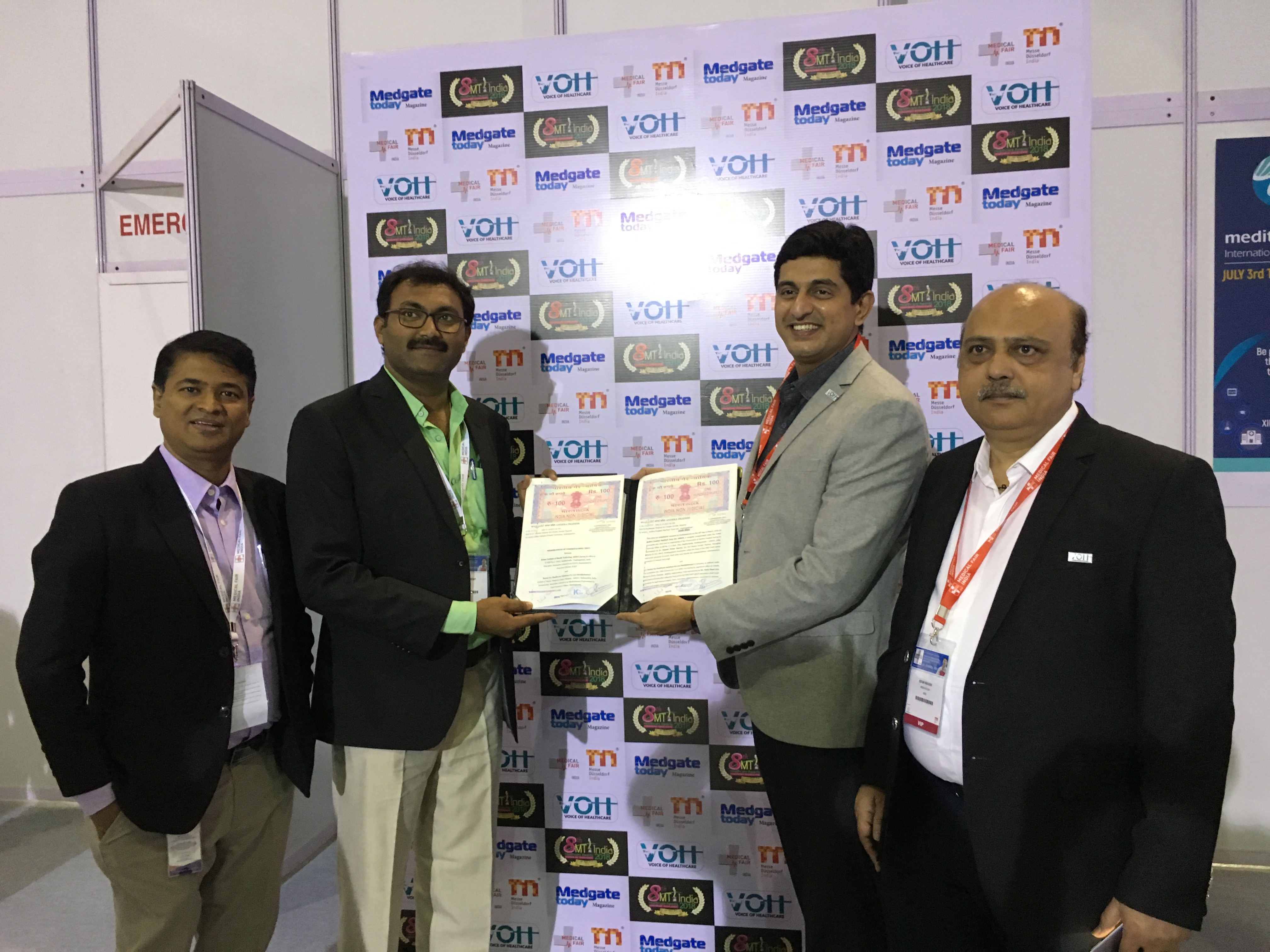 Medikabazaar Signs up MoU With Kalam Institute of Health Technology (KIHT)